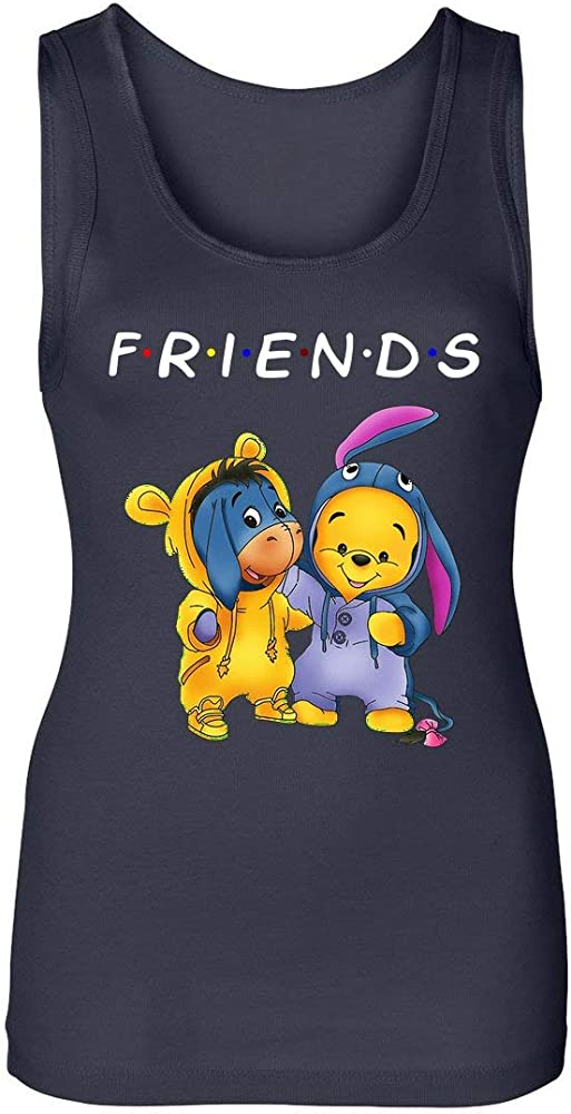 Illo Coast Friends Pooh Bear And Eeyore Donkey Funny ...