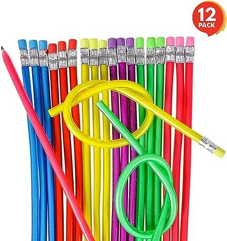 Amazon.com: ArtCreativity - Juego de lápices flexibles para ...