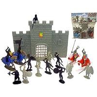 Castillo Medieval 18x23,5cm Con Accesorios Bolsa