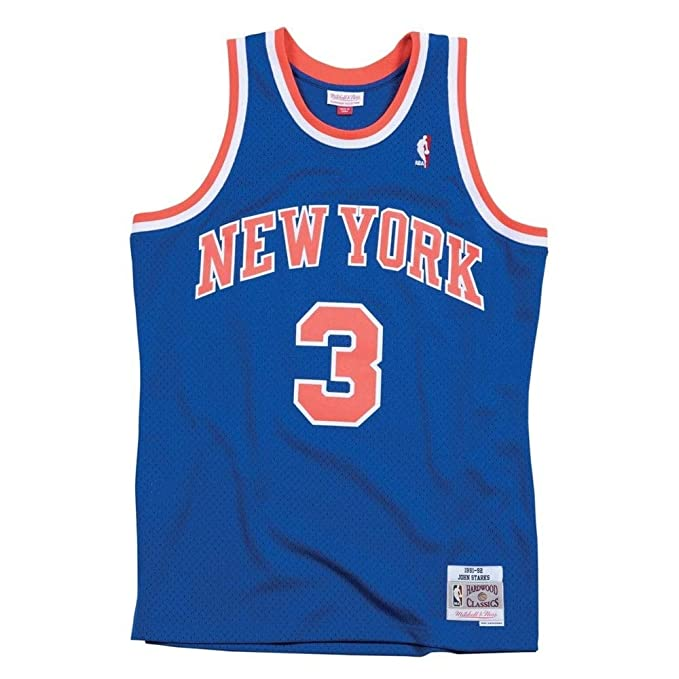 1a249b40e Mitchell   Ness NBA New York Knicks John Starks 3 1991-92 Retro Jersey  Swingman