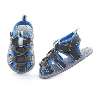 Amazon.com: Baby Boy sandalias zapatos deportivos Bebé niños ...