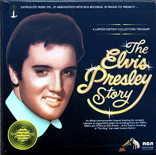 Elvis Presley: The Elvis Presley Story (5 Record Box Set) A Limited Edition Collectors - Elvis Collectors Record