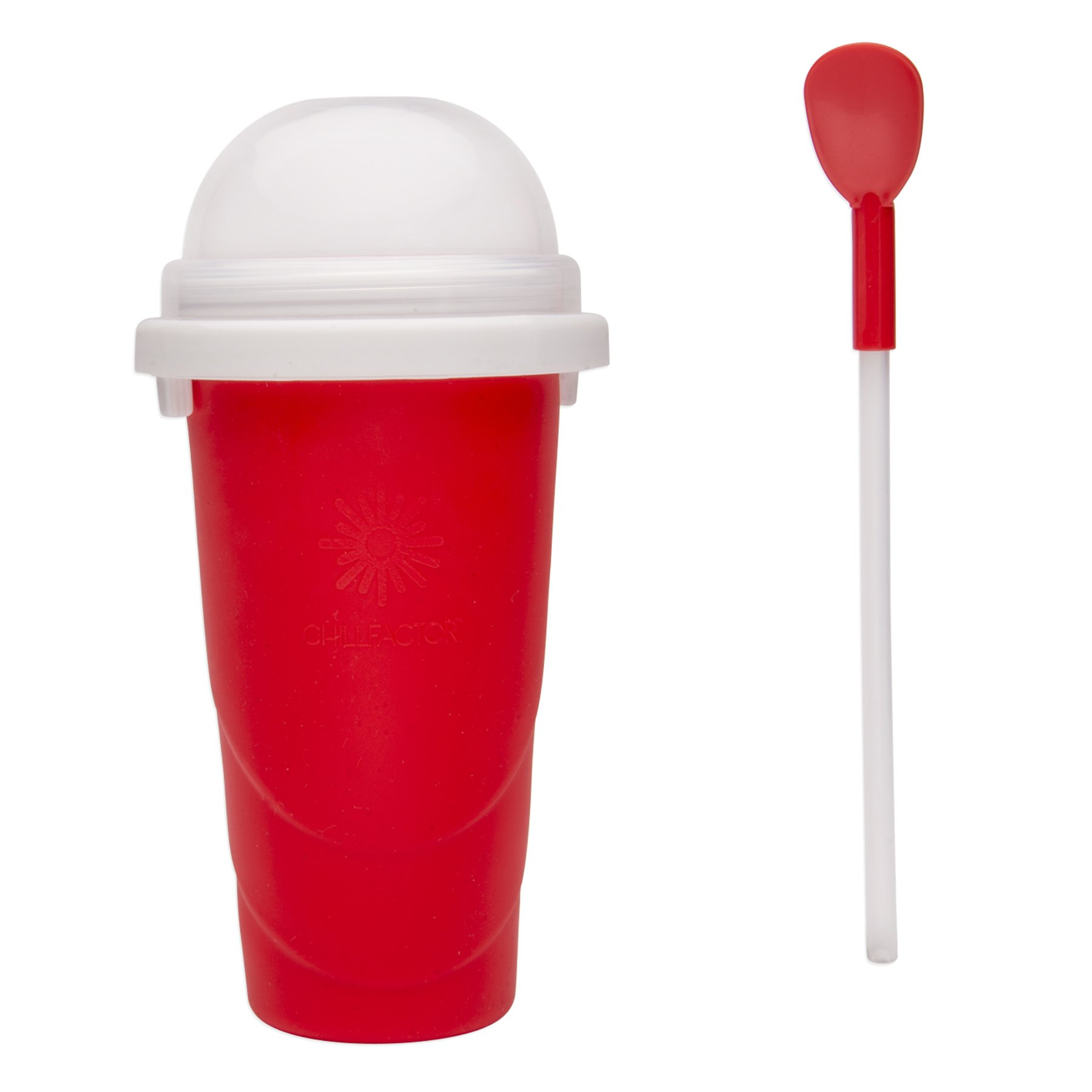 The Chill Factory Chill Factor Slushy Maker, Red by The Chill Factory