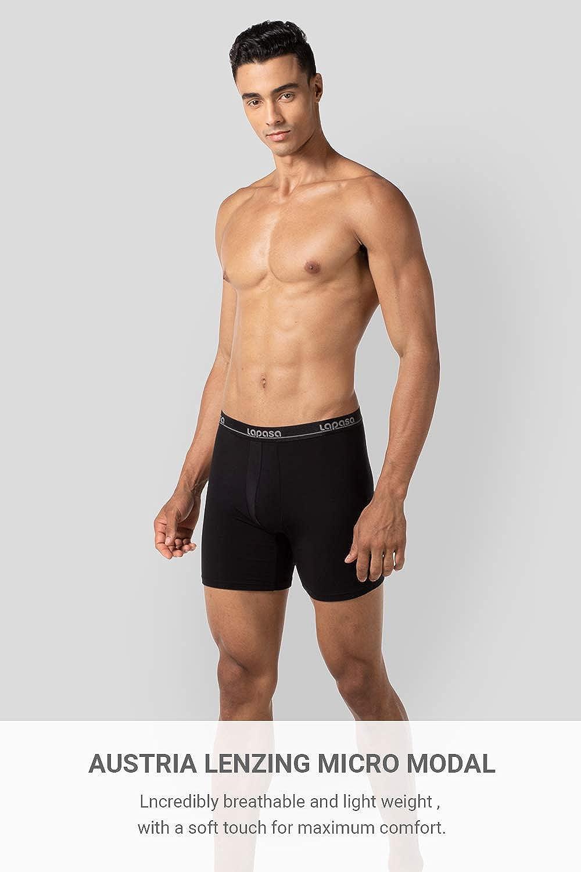 Ghhpws Mens I Love My Daddy Underwear Cotton Boxer Briefs Stretch Low Rise Trunks Black