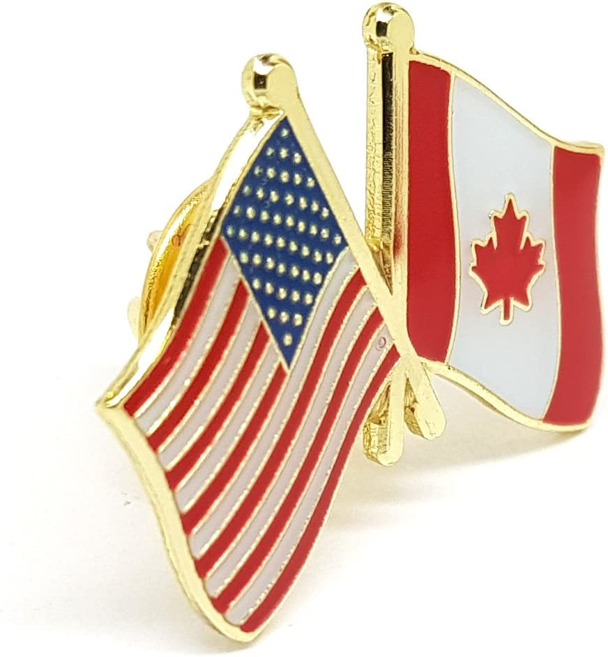 Canada Canadian Country Flag Lapel Hat Cap Tie Pin Badge Brooch