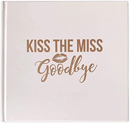 It's just a graphic of Kiss the Miss Goodbye Printable pertaining to font