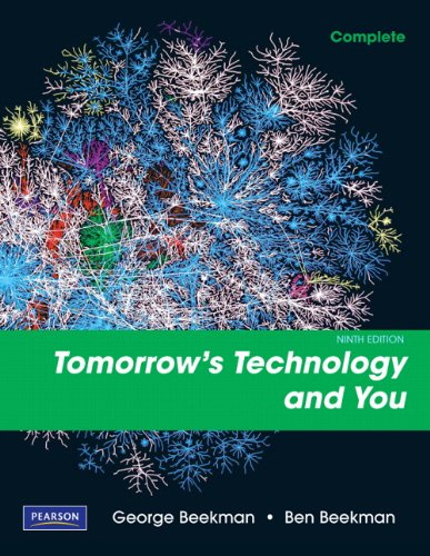 Tomorrow's Technology and You, Complete (9th Edition)