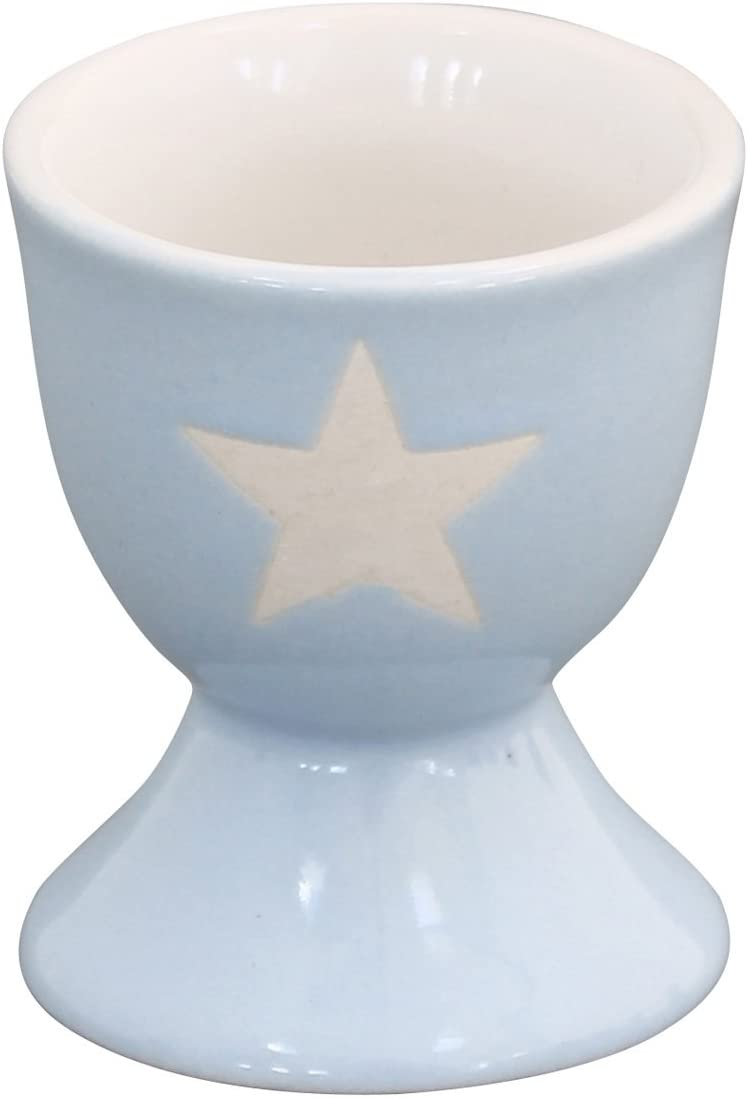 Krasilnikoff brightest coquetiers star motif /étoil/é bleu clair