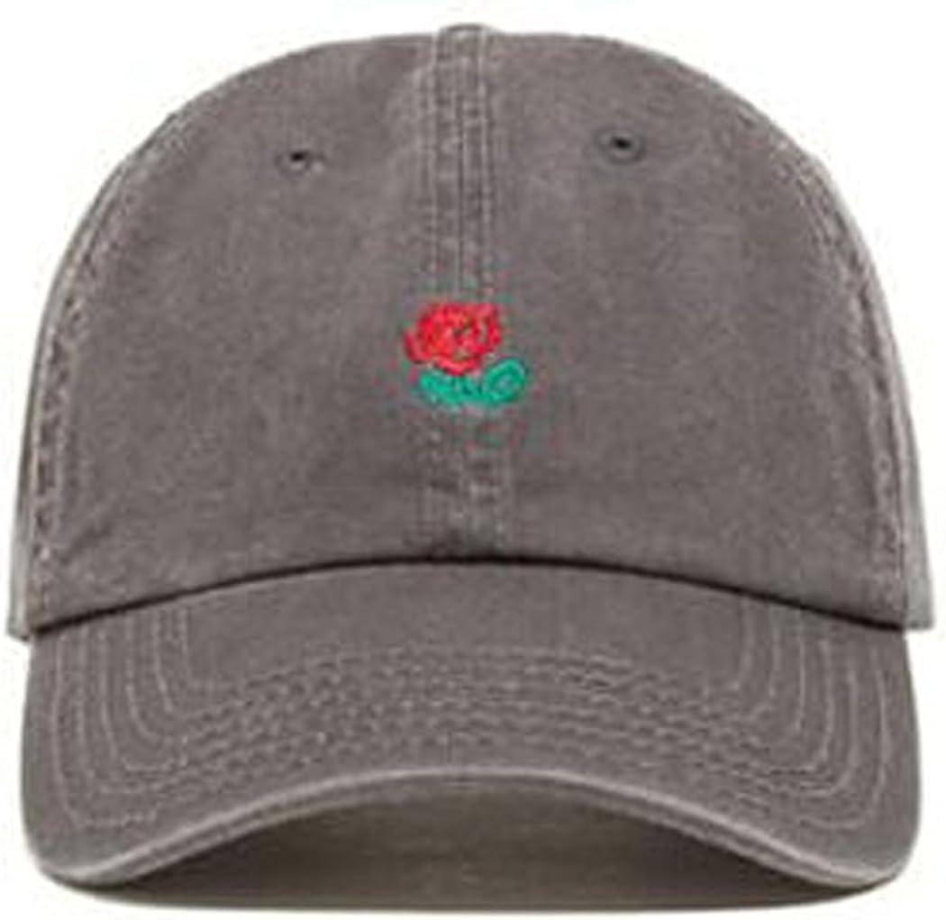 Thenice Rose Cappello da baseball ricamato con spalline regolabili