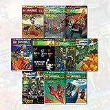 lego ninjago series vol 1 10 greg farshtey collection 10 books bundles the phantom ninja night of the nindroids destiny of doom
