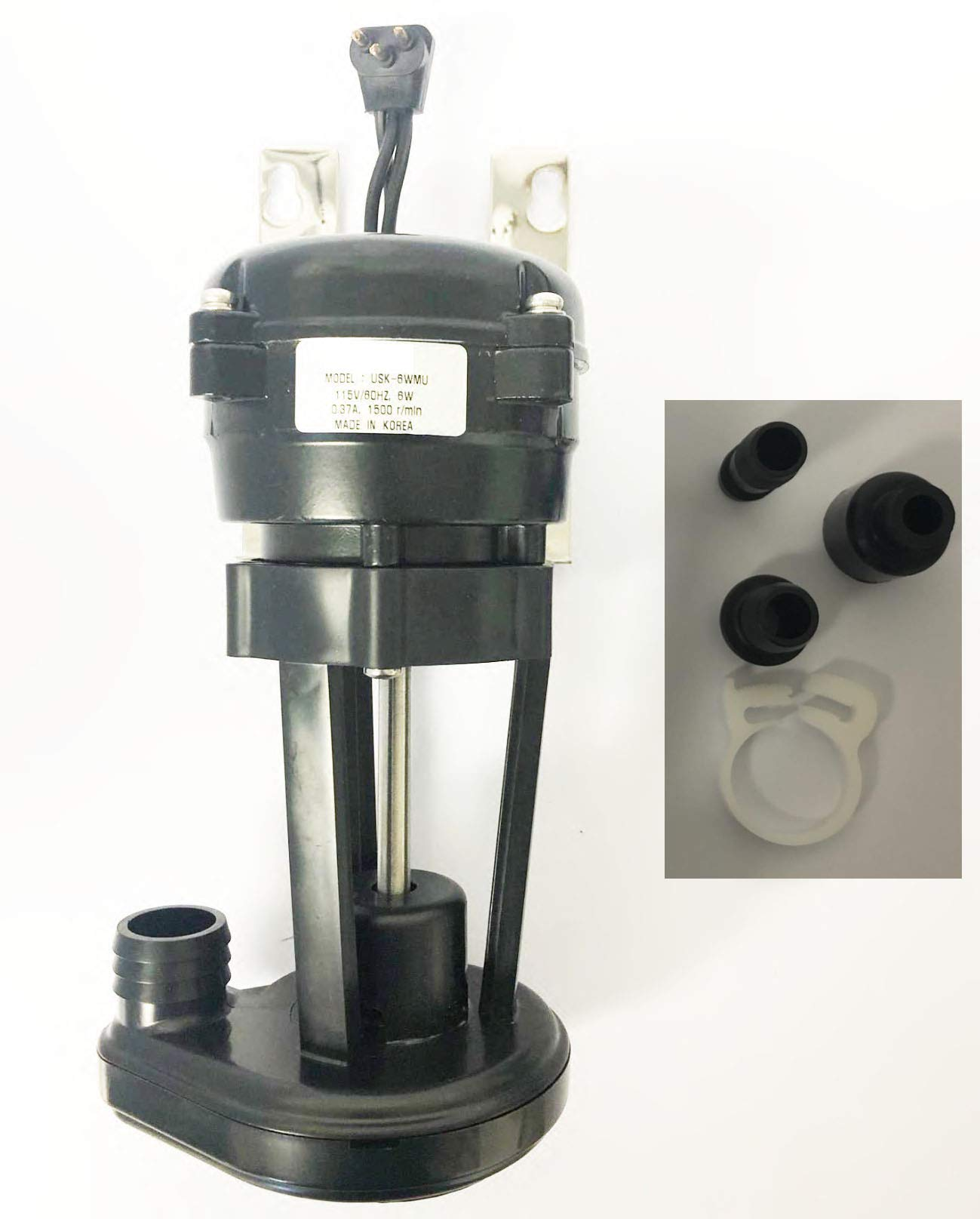 coldsupply New Compatible Manitowoc 7623063 Water Pump for Ice Machine 1 Year Replacement Warranty Accessories Included by coldsupply