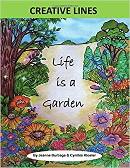 buy life is a garden colorful quotes volume creative lines