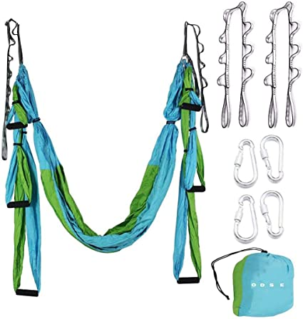 P Prettyia Stainless Steel Webbing Strapping Welded O Ring Hammock Swing Yoga