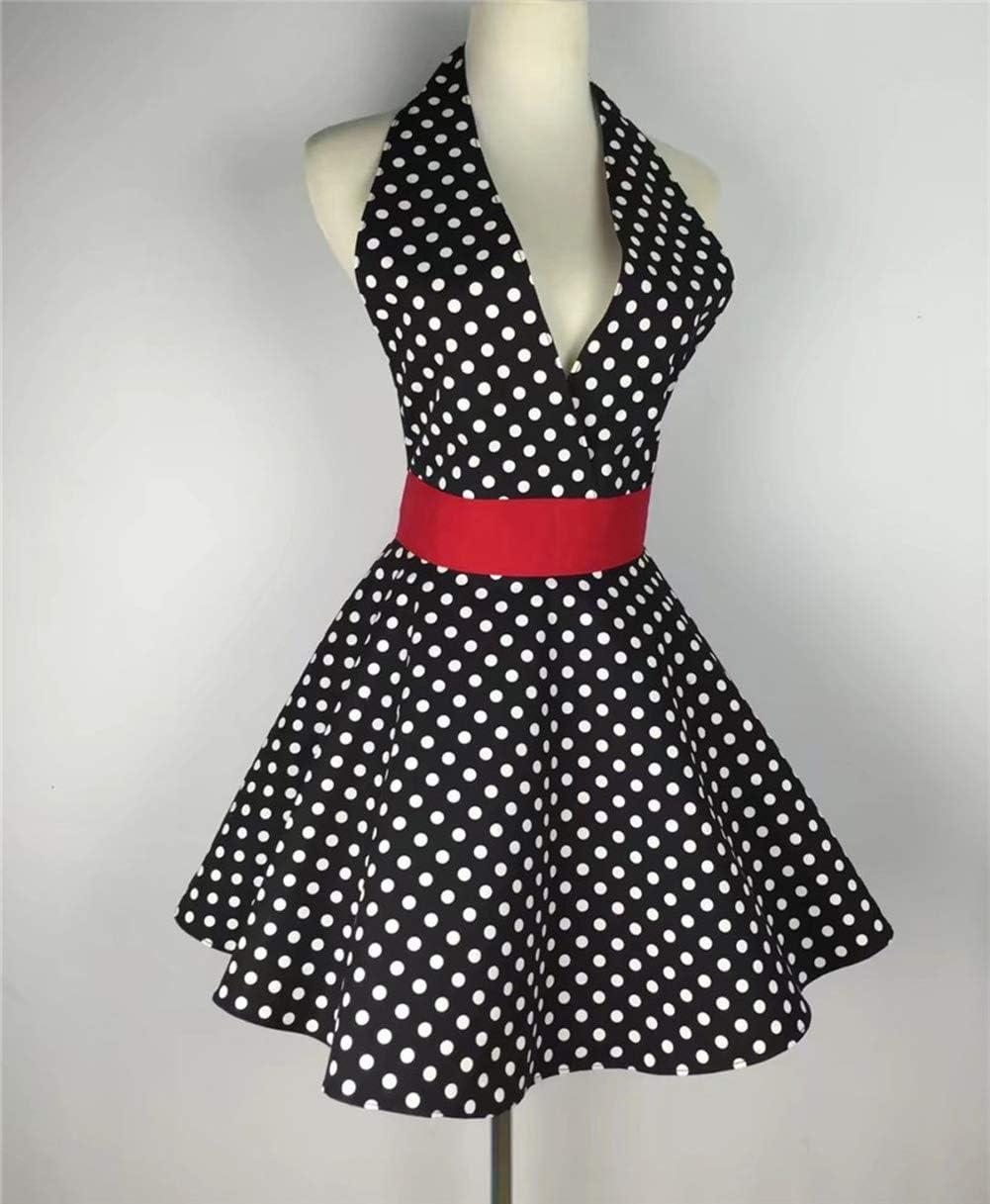 Fumee Dots Sexy Delantal Marilyn Monroe Disfraz de Fiesta de ...