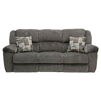 Ordinaire Amazon.com: Catnapper Transformer Ultimate Polyester Sofa In Seal: Kitchen  U0026 Dining