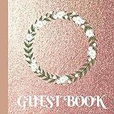Guest Book: Rose Gold Bridal Shower Guest Book