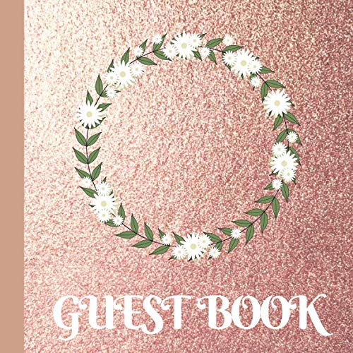 Guest Book: Rose Gold Bridal Shower Guest Book Includes Gift Tracker and Picture Memory Section to Create a Lasting Memory Keepsake (Shower Bridal Book Game)