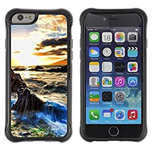 Suave TPU GEL Carcasa Funda Silicona Blando Estuche Caso de protección (para) Apple Iphone 6 PLUS 5.5 / CECELL Phone case / / Sunset Beautiful Nature 29 /
