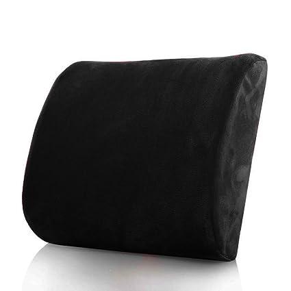 Memory Foam Lumbar Back Support Cushion Pillow For Car Amazon In
