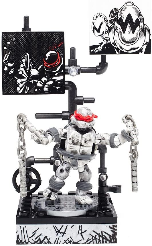 Mega Bloks Teenage Mutant Ninja Turtles - Michelangelo Eastman and Laird Collector's Figure
