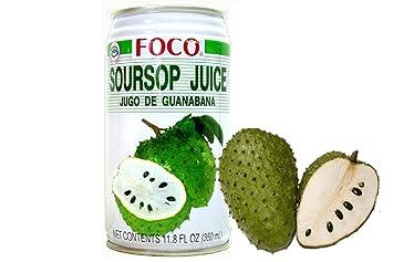 amazon com twelve pack of foco soursop juice drink 11 8 oz 350 rh amazon com