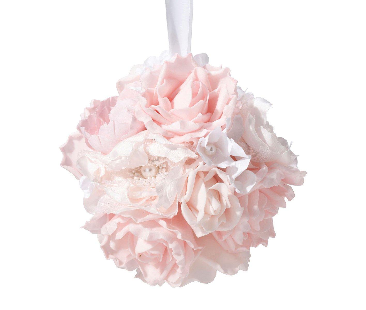 Lillian-Rose-Blush-Pink-Rose-Hanging-Flower-Ball-Wedding-Decor