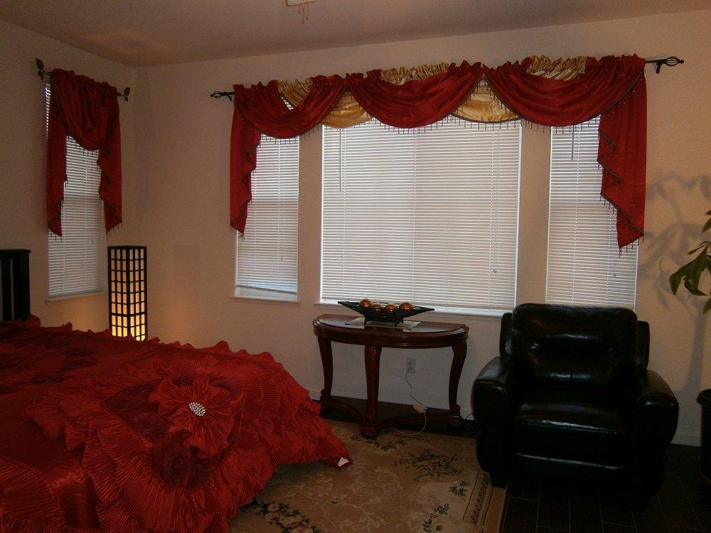 Octorose Royalty Oversize Wedding Bedding Bedspread Comforter Quilts Set (Red, King/calking(120x110'')) by OctoRose