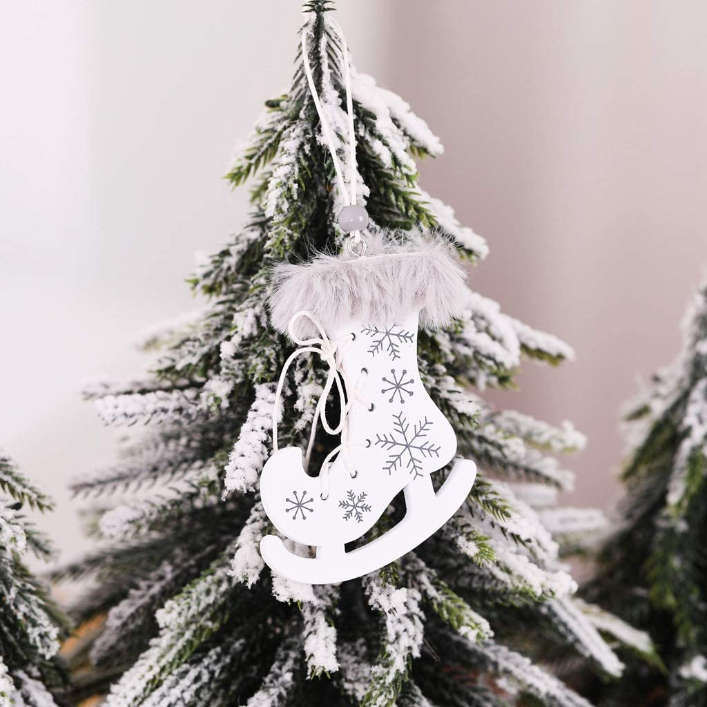 Engels-weiße Feder-Flügel-Weihnachtsdekor-hängende Verzierungs-Hochzeit 10PCS