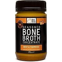 BONE BROTH Caldo concentrado de hueso bovino de calidad con sabor a cúrcuma