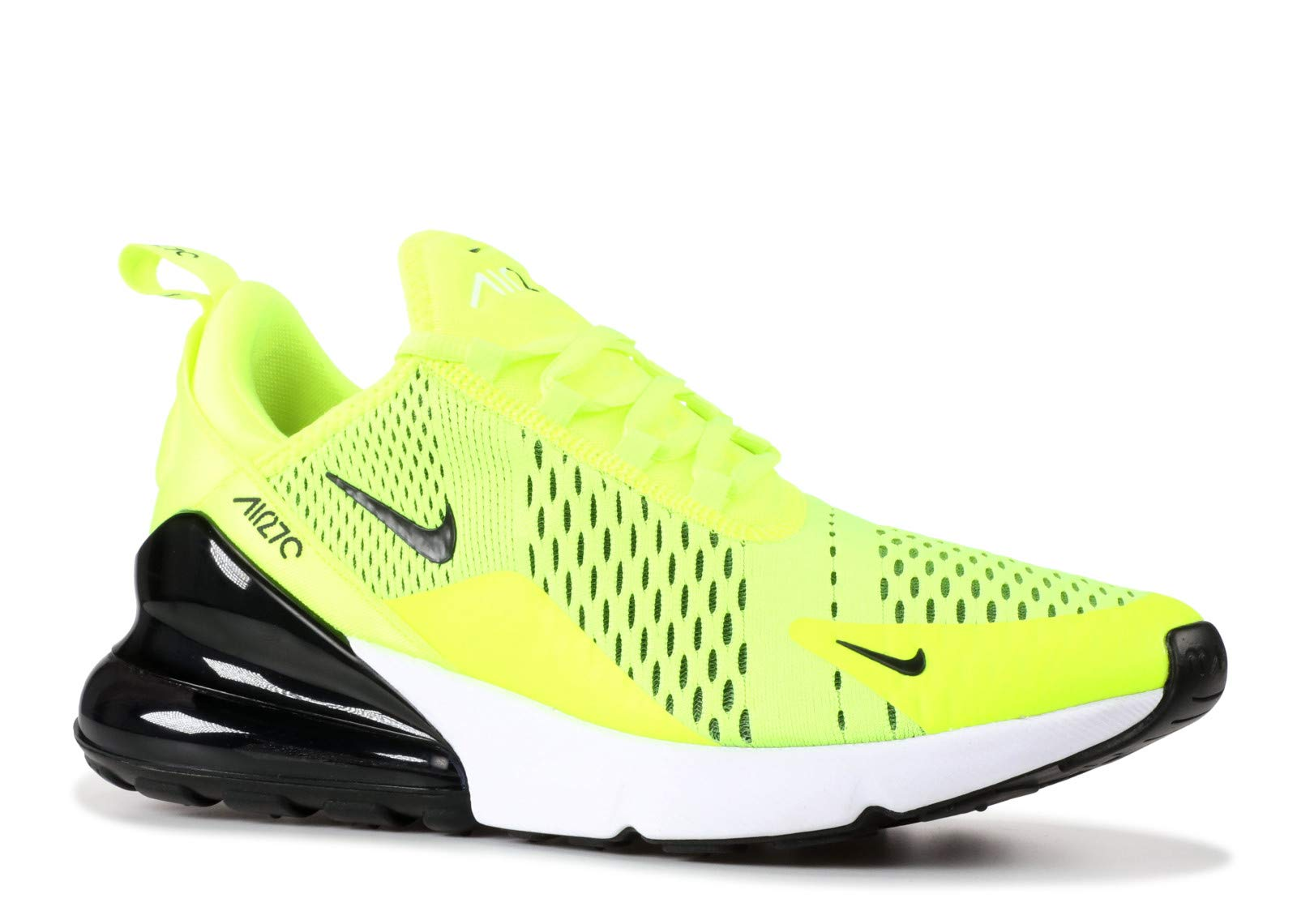 huge discount f7f4c c1eed Galleon - Nike Mens Air Max 270 Running Shoes Black Volt Oil Grey AH8050-701  Size 10.5