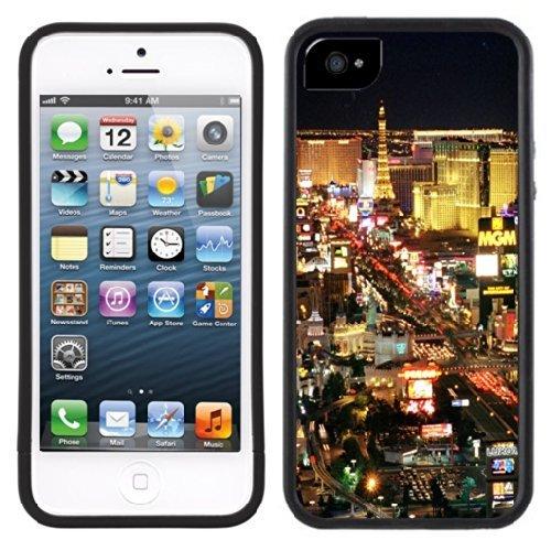 Las Vegas Strip Handmade iPhone 5 5S Black Case