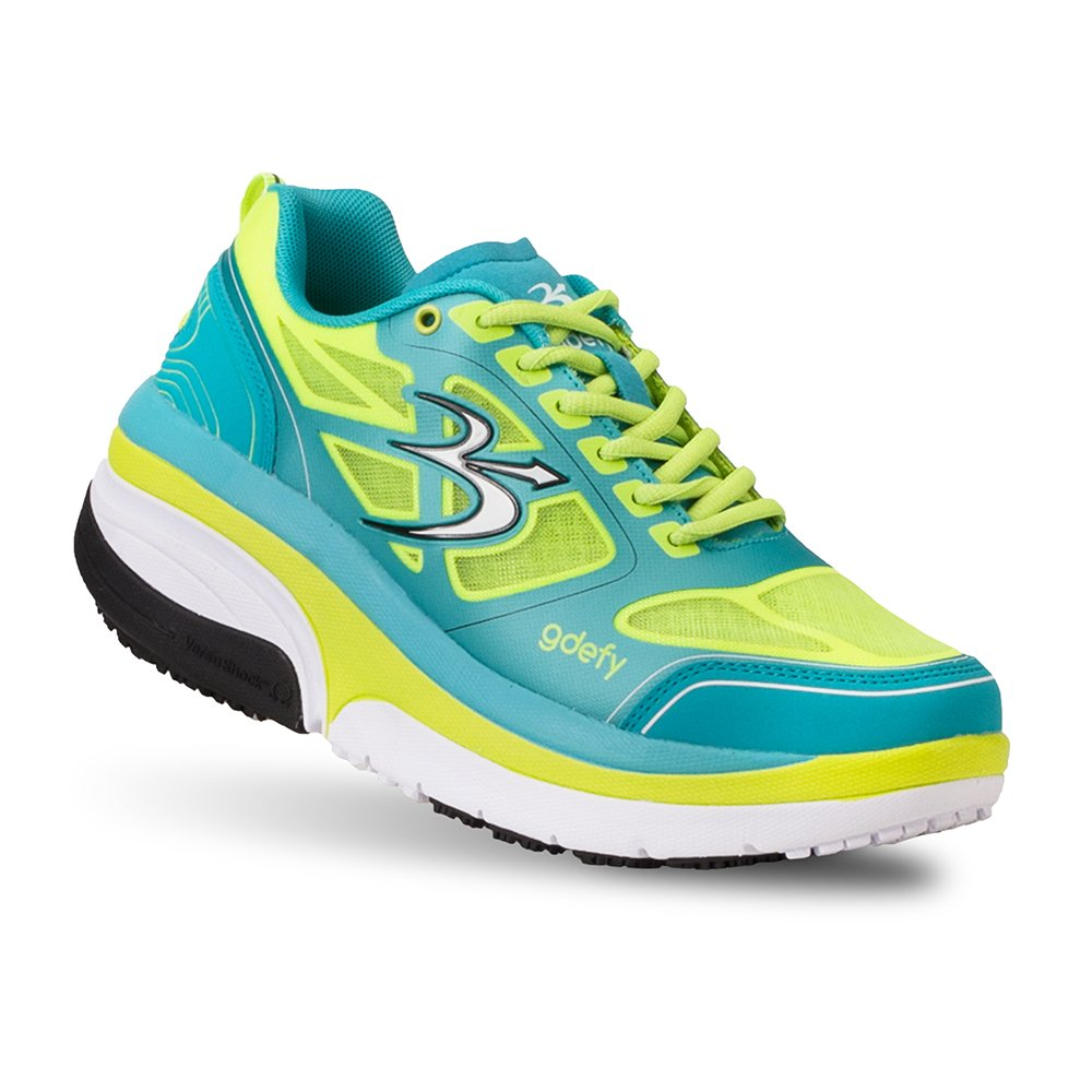 Gravity Defyer Proven Pain Relief Women's G-Defy Ion Athletic Shoes Great for Plantar Fasciitis, Heel Pain, Knee Pain B074W9XYXR 7.5 C/D US|Multi-colored