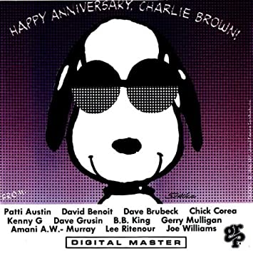 amazon happy anniversary charlie brown various artists モダン