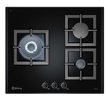 Balay 3ETG395BP hobs - Placa (Incorporado, Gas, electric induction, Vidrio, Giratorio