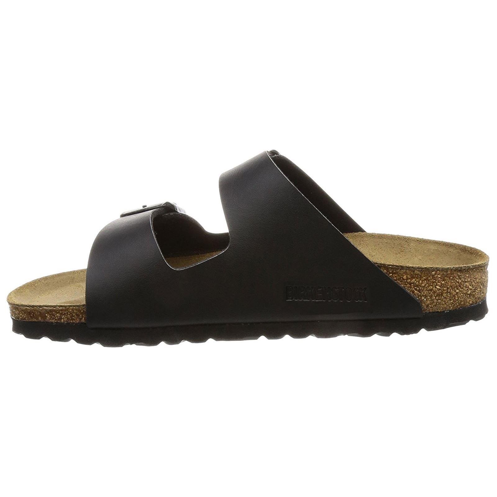 Birkenstock Womens Arizona Black Leather Sandals 37 EU