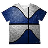 Old Glory Championship Basketball Navy Blue & White All Over Toddler T Shirt Multi 6T