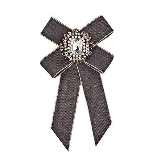 Corbata de lazo de las mujeres, Moda Temperamento Femenino ...