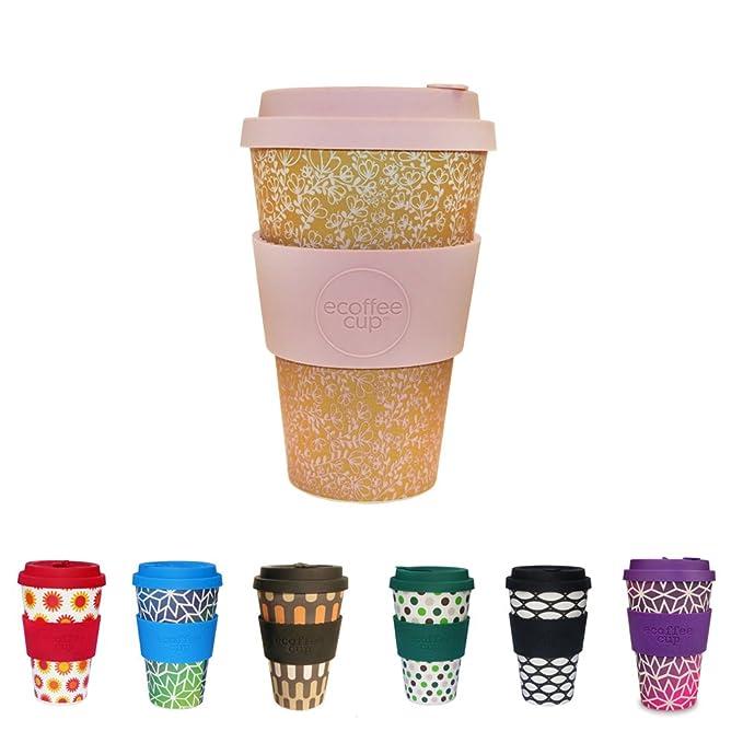 5 opinioni per BIOZOYG Coffee Cup Bamboo sostenibile I Tazza di caffè in bambù con Coperchio in