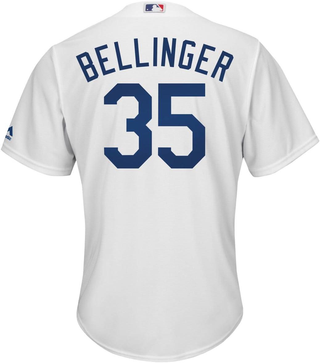 Outerstuff Cody Bellinger Los Angeles Dodgers #35 Blue Infants Cool Base Alternate Replica Jersey