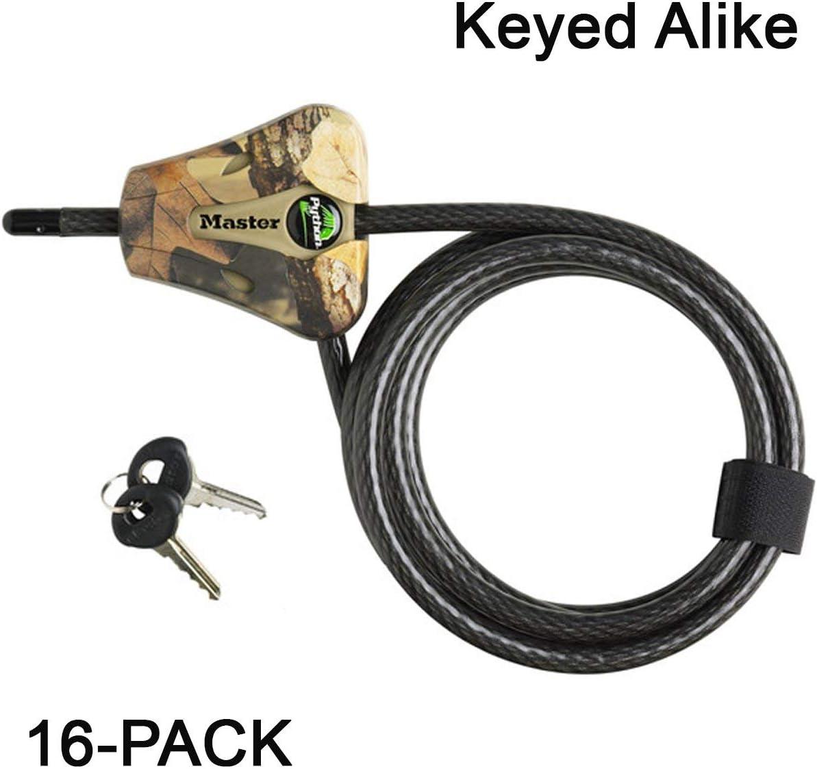 2 keys Rust Resistant 6.5 feet Kayak Security Cable Keyed Locking