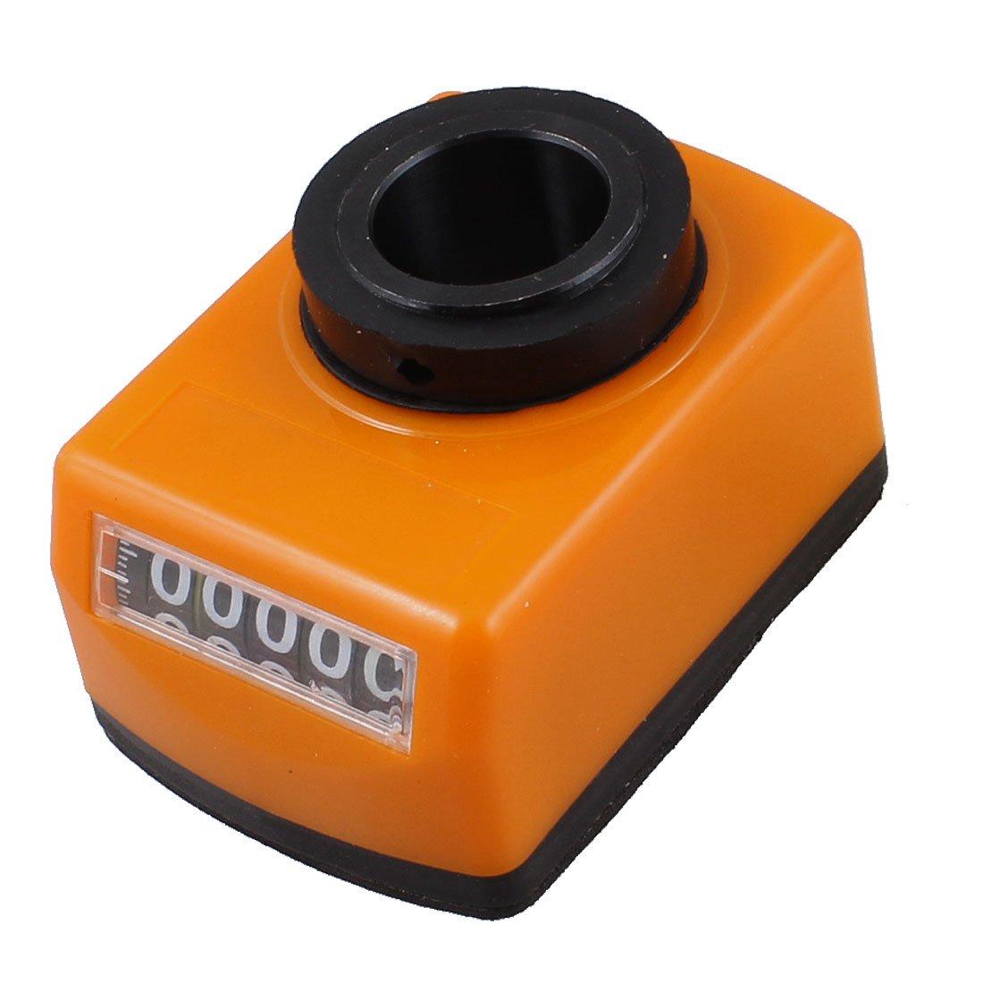 Sourcingmap a12120300ux0056 - Má quina del torno parte diá metro de 20 mm indicador de posició n de 5 dí gitos digitales negro naranja