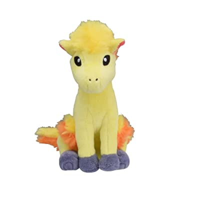 Pokemon Center Original Fit Ponyta Ponyta Ponita Plush Peluche: Toys & Games