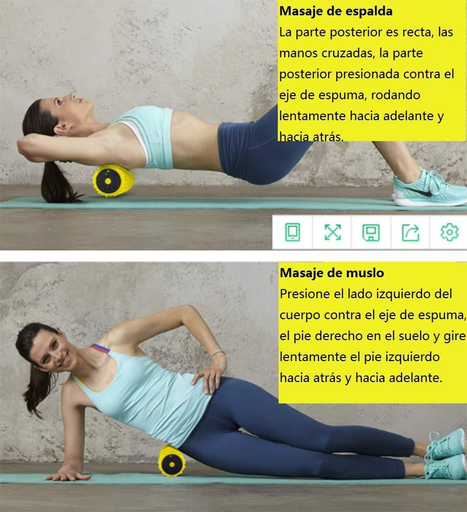 Amazon.com: NUAN233 Vibrating Electric Yoga Column Foam ...