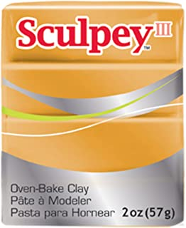 product image for Sculpey III Polymer Clay 2 Ounces-Gold (S302 1086)