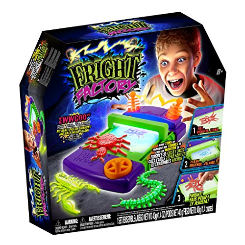 Tech 4 Kids Fright Factory Creature Creator Toy - Creepy Crawlers