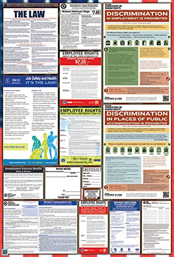 Missouri/Federal Combination Labor Law Posters by Labor Law Compliance Center