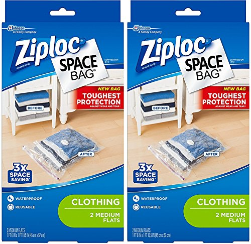 ziploc vacuum storage bags medium - 3