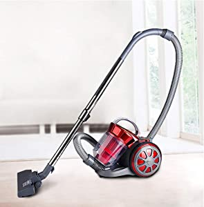 Whirlwind Bagless Canister Vacuum Cleaner Household Ultra-Quiet Lightweight Corded Vacuum for Carpets and Hard Floors