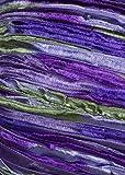 Crystal Palace - Party Ribbon Knitting Yarn - Violets (# 414)