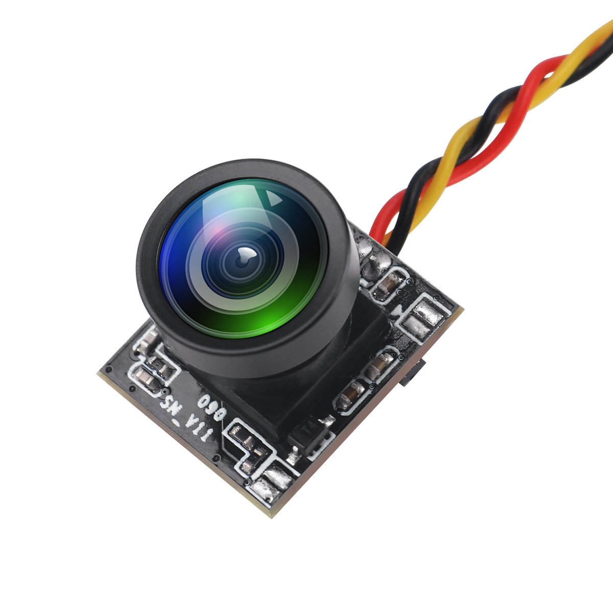 Crazepony Mini FPV Camera Turbowing 720TVL HD Camera 120 Degree NTSC/PAL Switchable CMOS Camera with Protective Shell for Racing Drone Multicopter Quadcopter